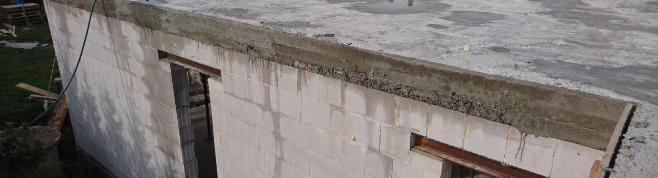 #34 Jak jsme betonovali strop